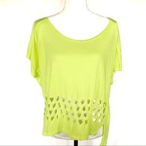 Lush Neon Yellow festival t-shirt